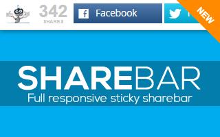 Mashshare Sticky ShareBar