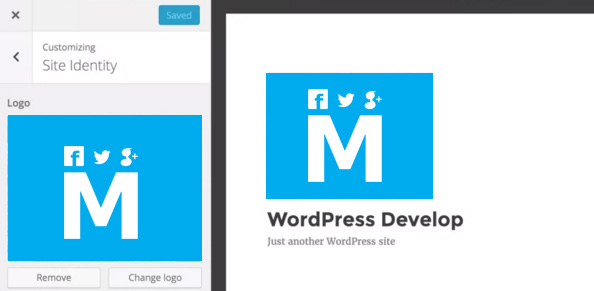 Wordpress-4.5-theme-customizer-logo-support