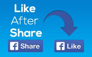 LikeAfterShare Add-On