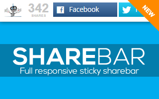 Sticky ShareBar