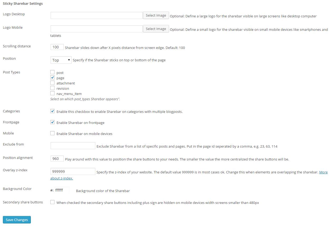 mashshare-sticky sharebar settings 1_0_4